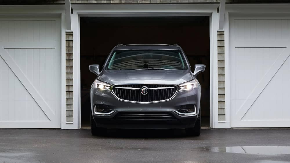 2019 Buick Enclave Parked in Garage