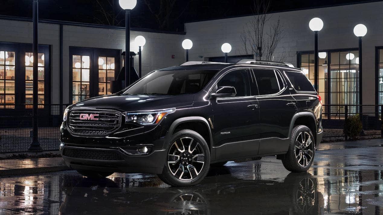 2019 GMC Acadia dark exterior
