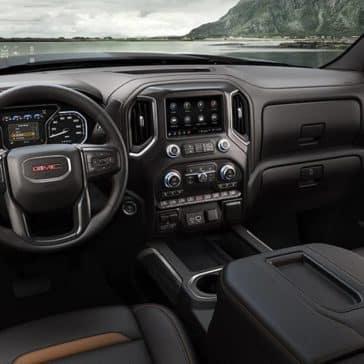 2019 GMC Sierra 1500 front interior
