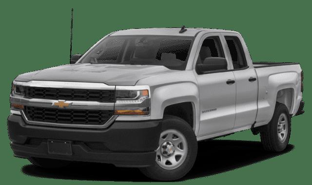 2019 Chevrolet Silverado 1500 Side View