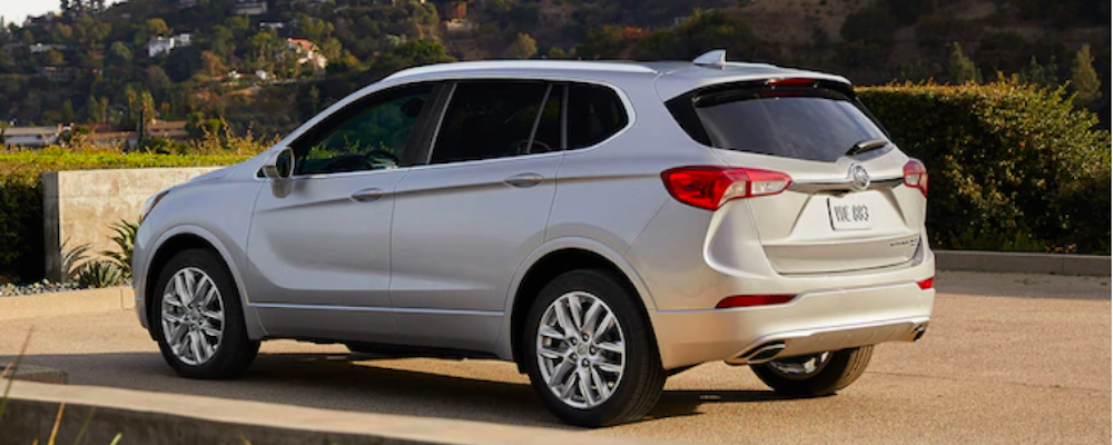 2019 Buick Envision Silver