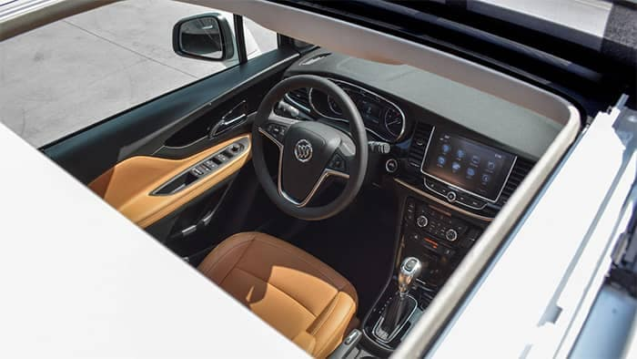 2019 Buick Encore Interior View Through Sunroof