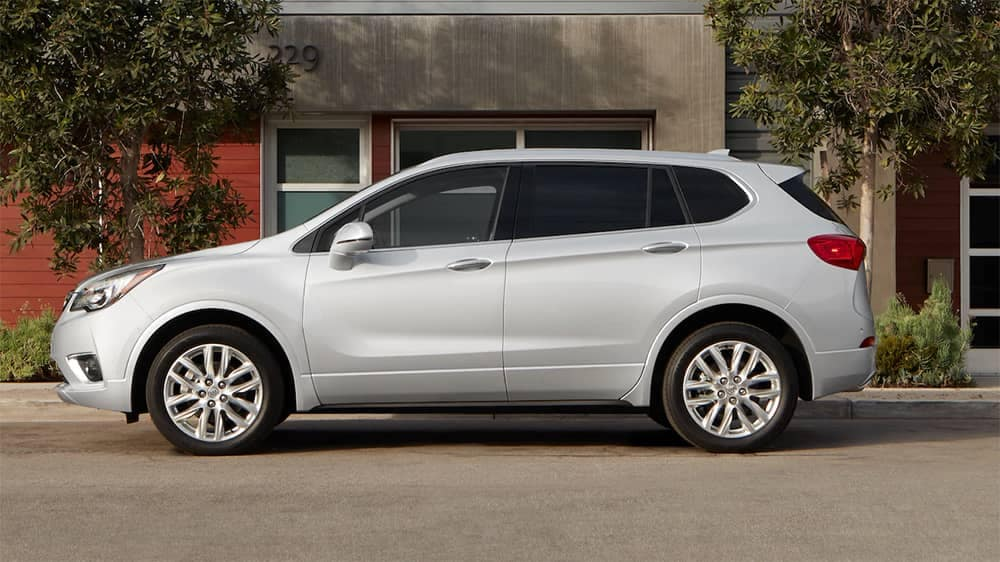 2019 Buick Envision Side View