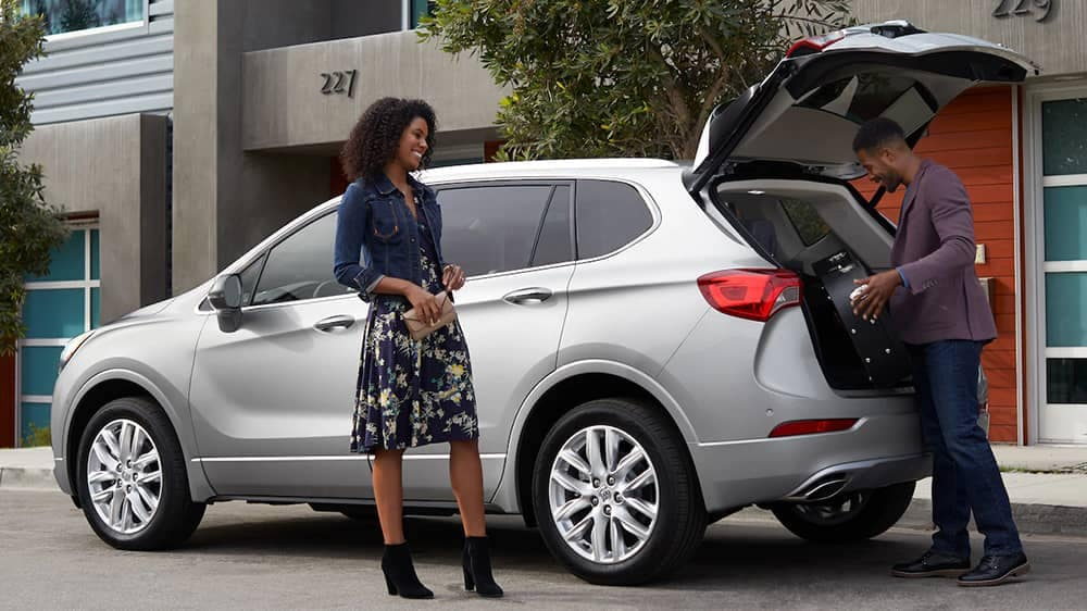 2019 Buick Envision Open Trunk