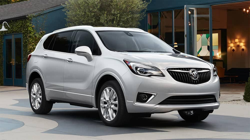 2019 Buick Envision Parked