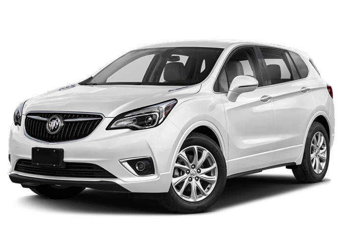 2019 Buick Envision White