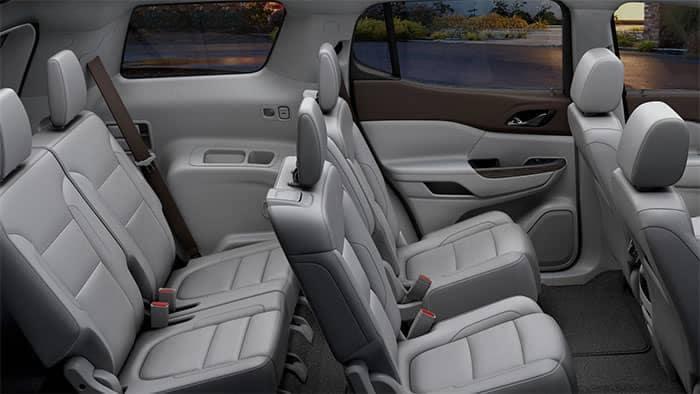 GMC Acadia Interior Seating