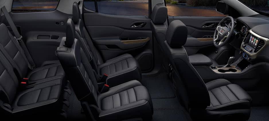 2020 GMC Acadia Interior Seating