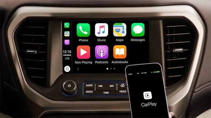 GMC Acadia Apple Carplay