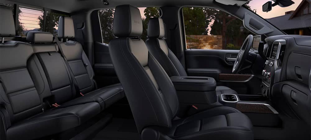 2020 GMC Sierra Denali Interior Seating