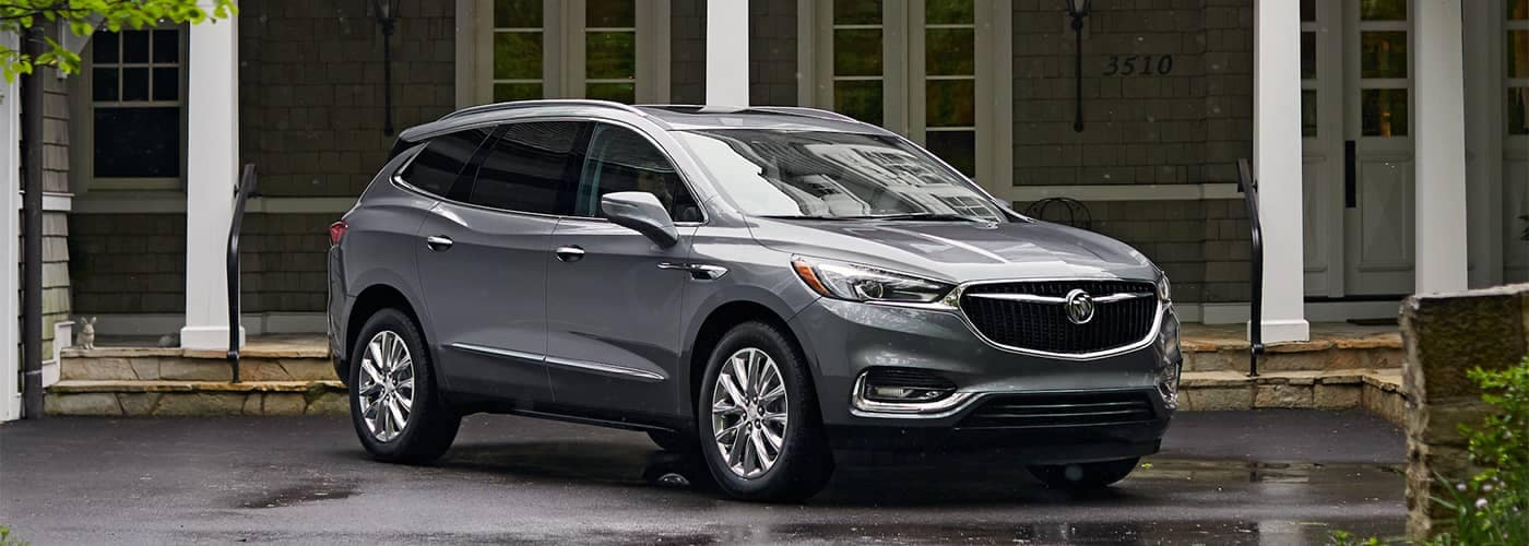 Buick Enclave Parked In Front of Home