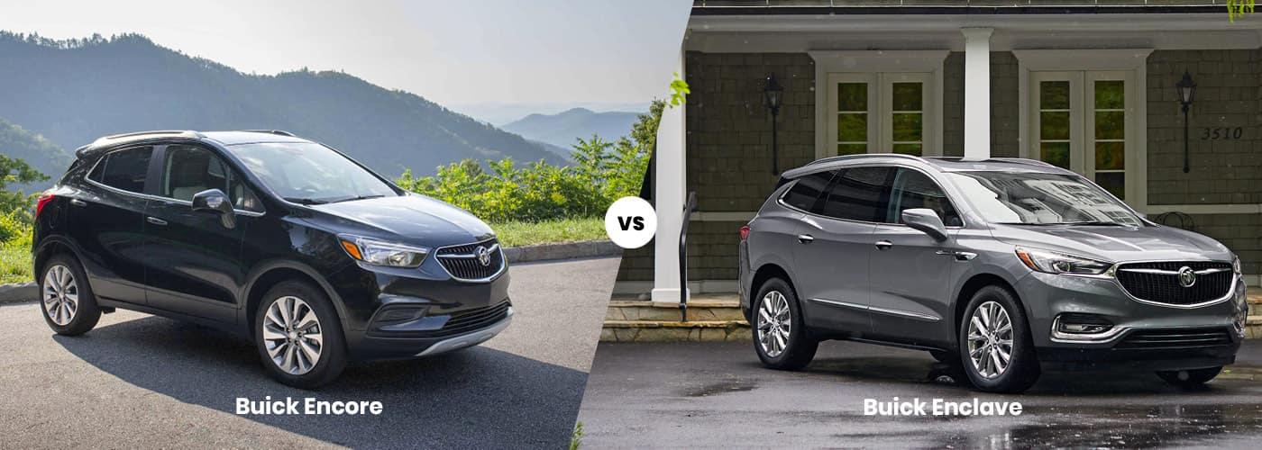 Buick Encore vs. Buick Enclave