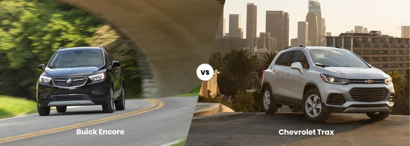 Buick Encore vs. Chevy Trax