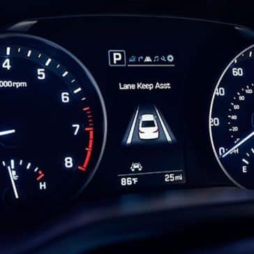 2018 Hyundai Elantra Lane Departure Warning