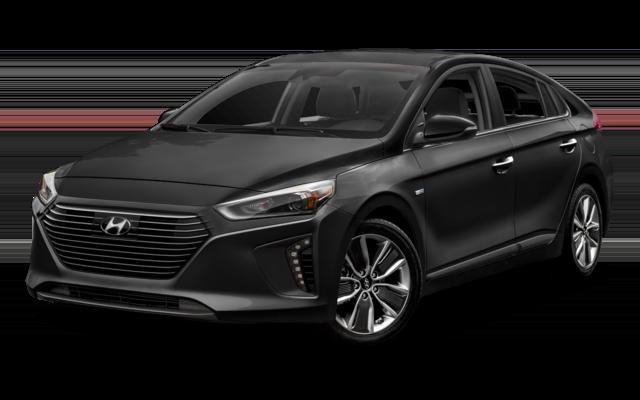 2018 Hyundai Ioniq Hybrid Blue Hatchback_