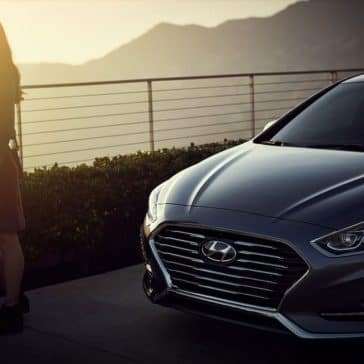 2018 Hyundai Sonata sunset