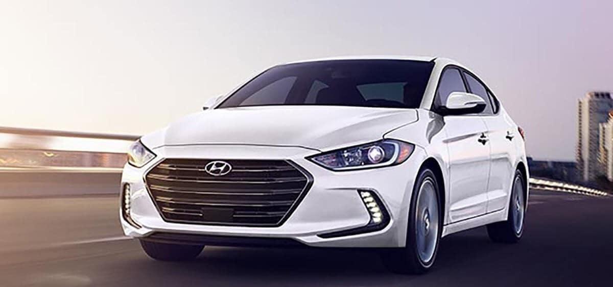 2018 Hyundai elantra angle