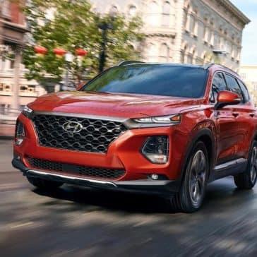2019 Hyundai Santa Fe Driving