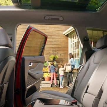 2019 Hyundai Santa Fe Rear Seat