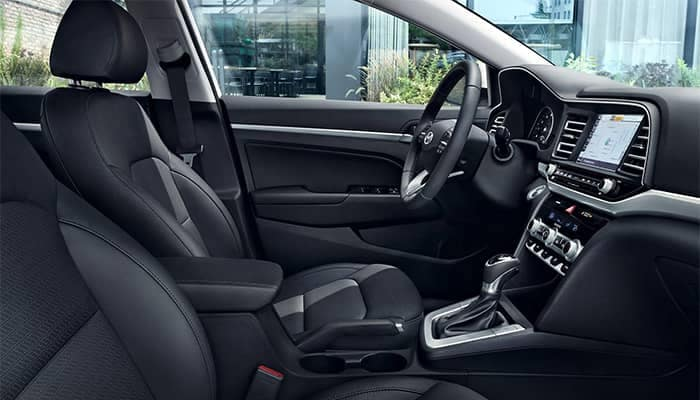 2019 Hyundai Elantra Interior Front Seating and Dashboard