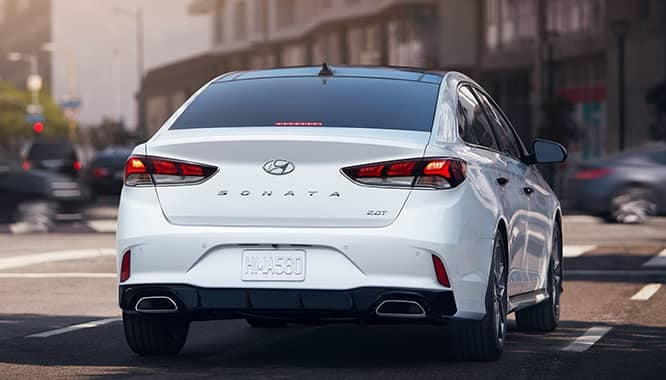 2019 Hyundai Sonata Stopped in the City