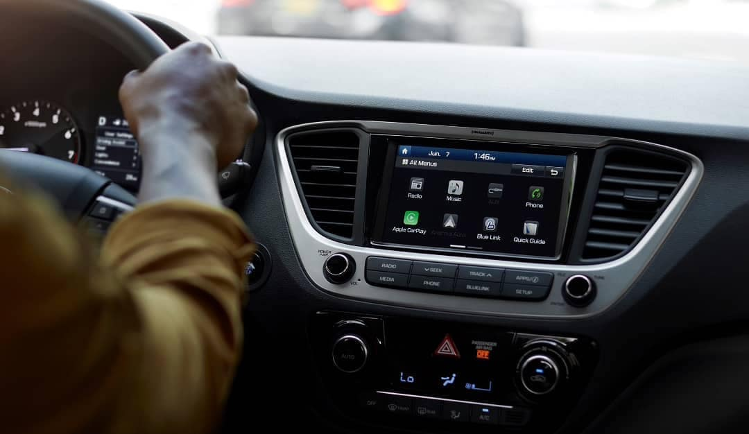 2019-Hyundai-Accent-infotainment-display