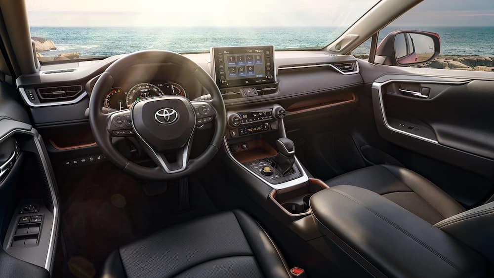 2019 Toyota Rav4 Interior Rav4 Interior Dimensions Features
