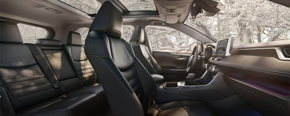 2019 Toyota RAV4 Interior Seating Side View