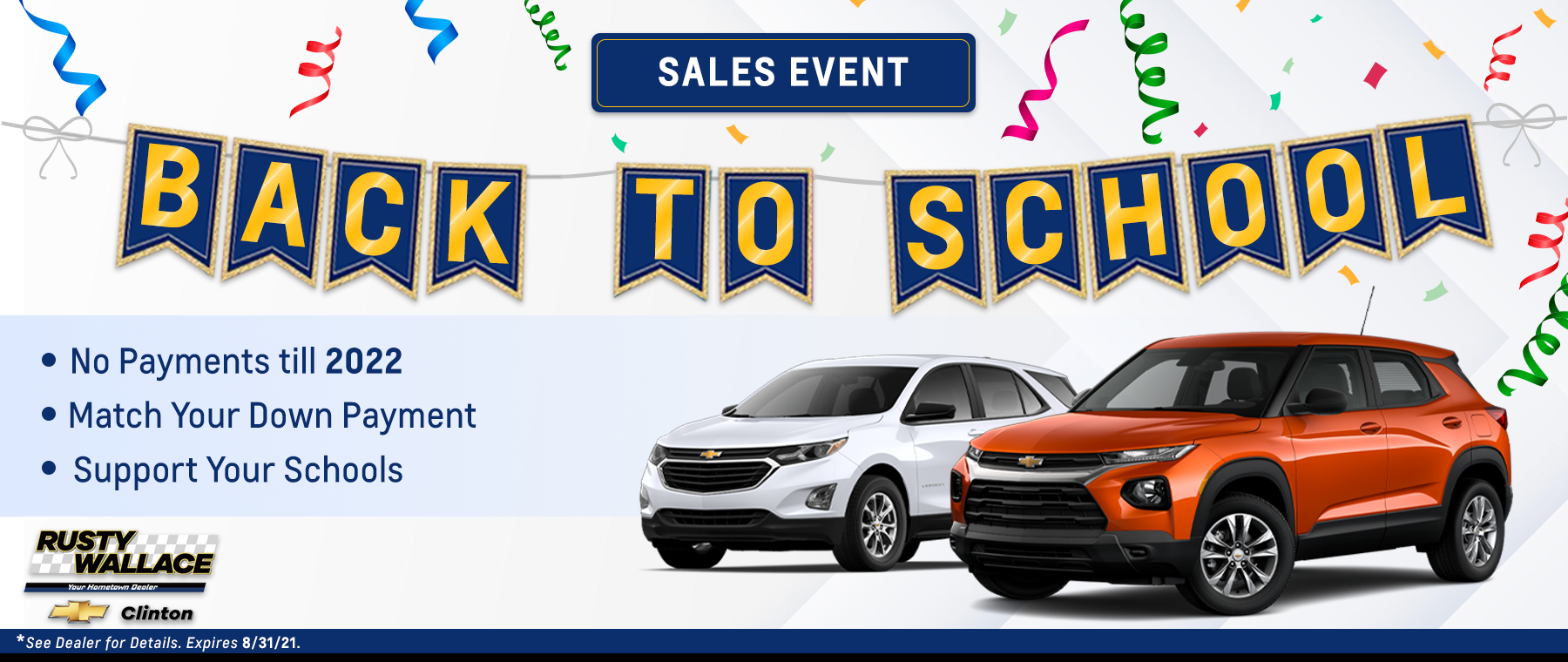 RWC – August FB Event Ad (Back To School) – Desktop Homepage Banner