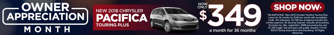 2019 Chrysler Pacifica Special