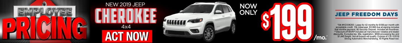 Jeep Cherokee 4x4 Special