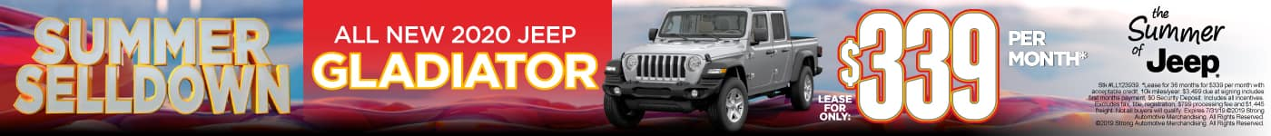 All New 2020 Jeep Gladiator