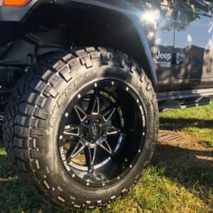 Custom Wrangler Wheels