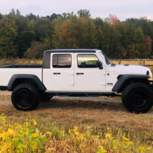 2020 Jeep Gladiator with 37