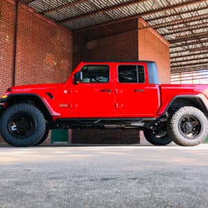2020 Jeep Gladiator Driver Side View Lifted w/ 35