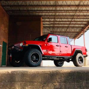2020 Jeep Gladiator Overland with winch and side bars