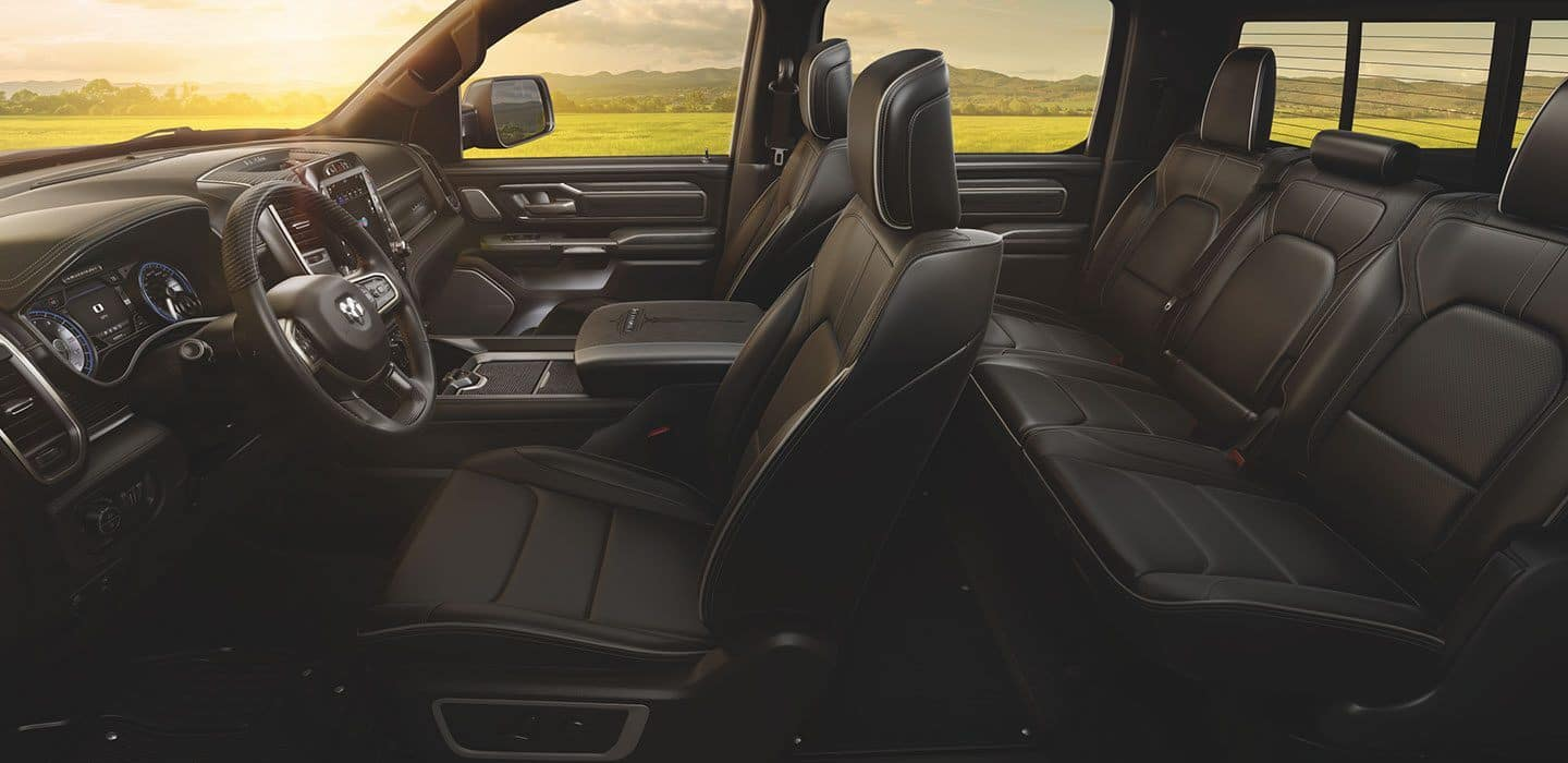 2020 Ram 1500 interior available in Fredericksburg VA