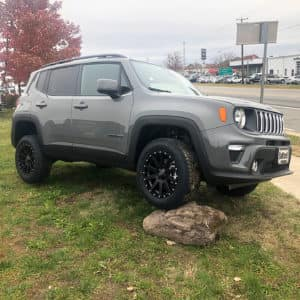 Jeep Renegade with 30