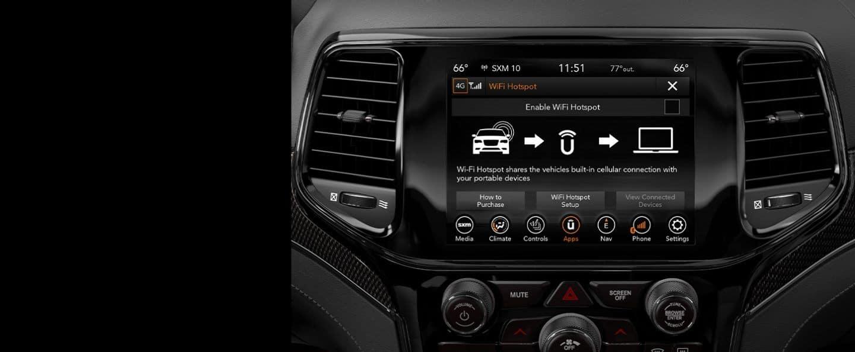 2020 Jeep Grand Cherokee Technology