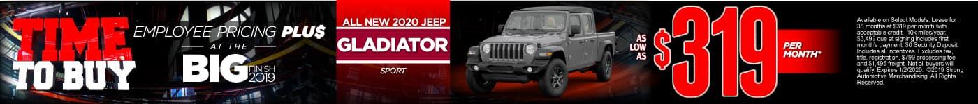 New 2020 Jeep Gladiator