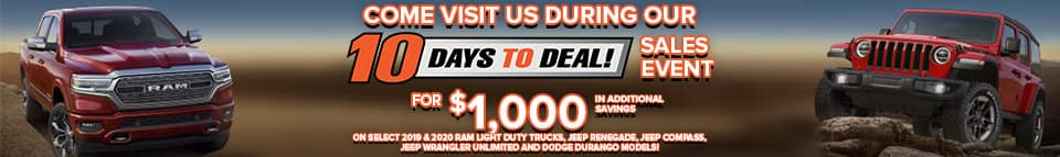 10 days to deal