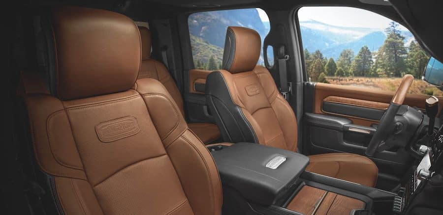2020 Ram 3500 interior available in Fredericksburg VA