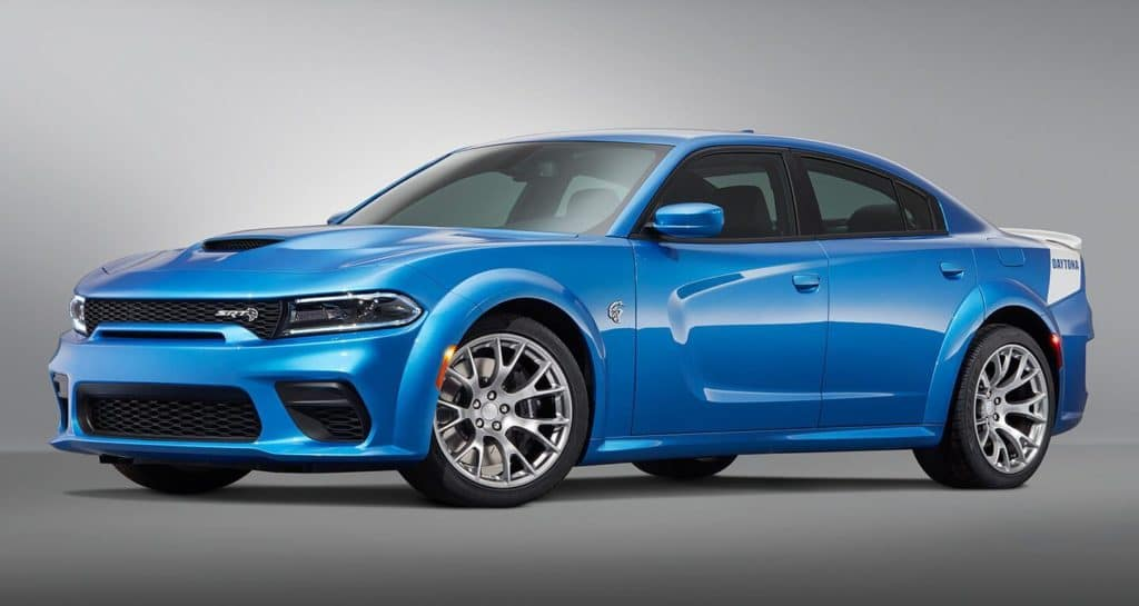 Blue 2020 Dodge Charger Hellcat
