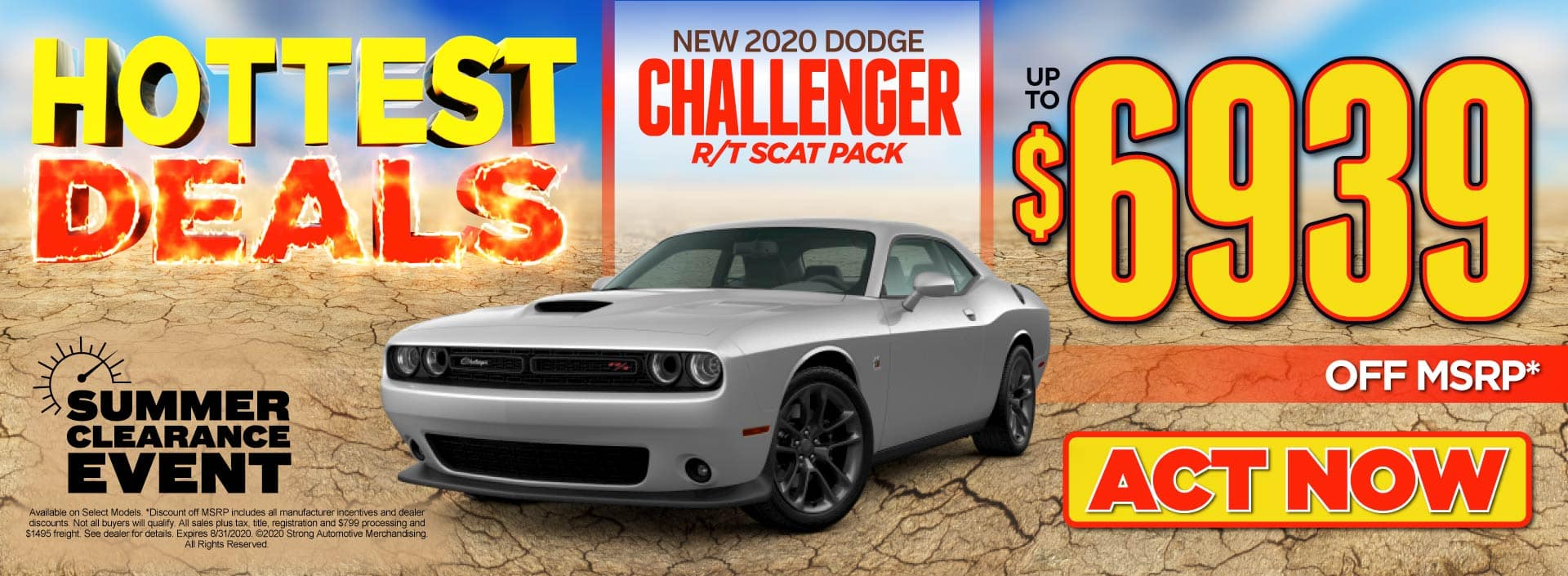 New 2020 Dodge Challenger - up to $6939 off MSRP - Click to View Inventory