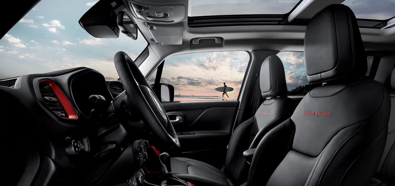 2021 Jeep Renegade interior available in Fredericksburg VA
