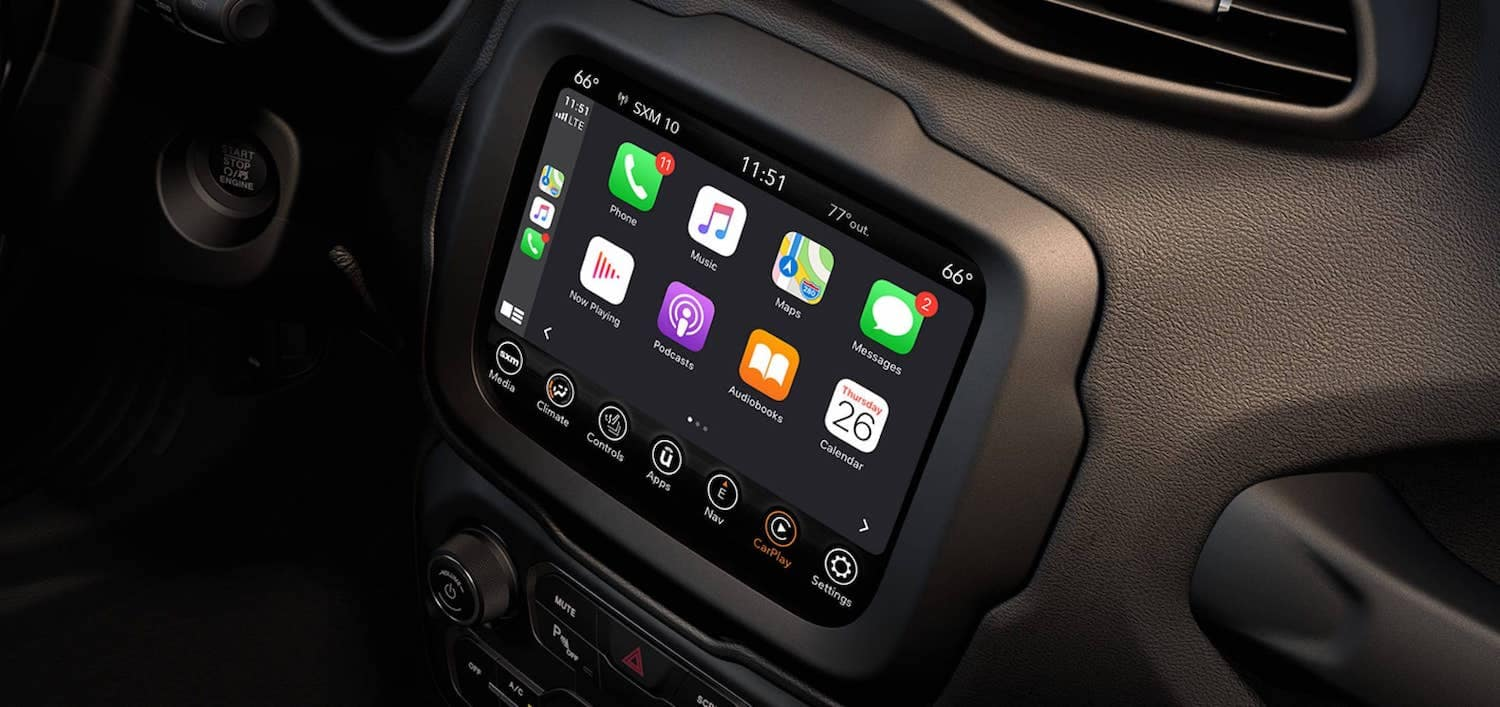 2021 Jeep Renegade Technology available in Fredericksburg VA