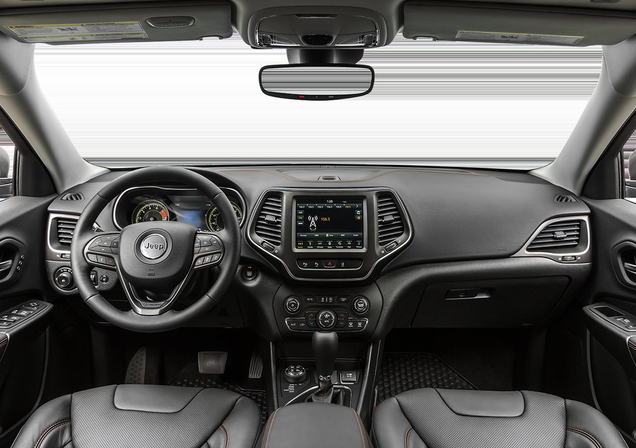 2021 Jeep Cherokee interior available in Fredericksburg, VA