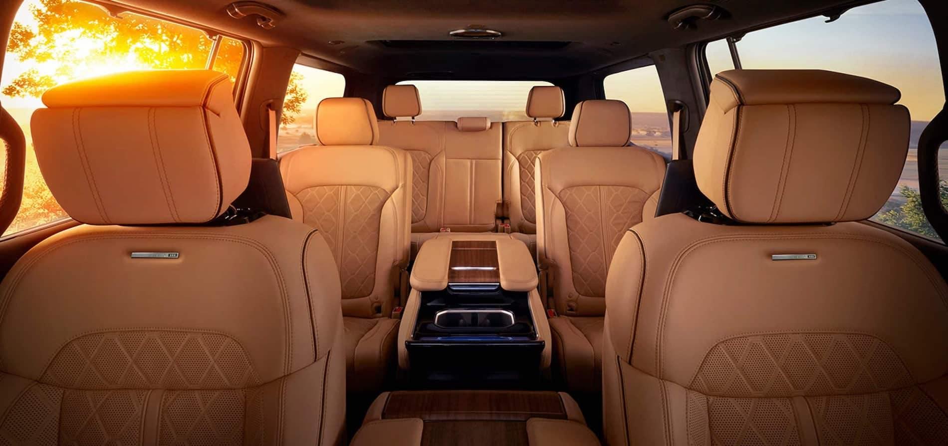 Grand Wagoneer Leather Interior