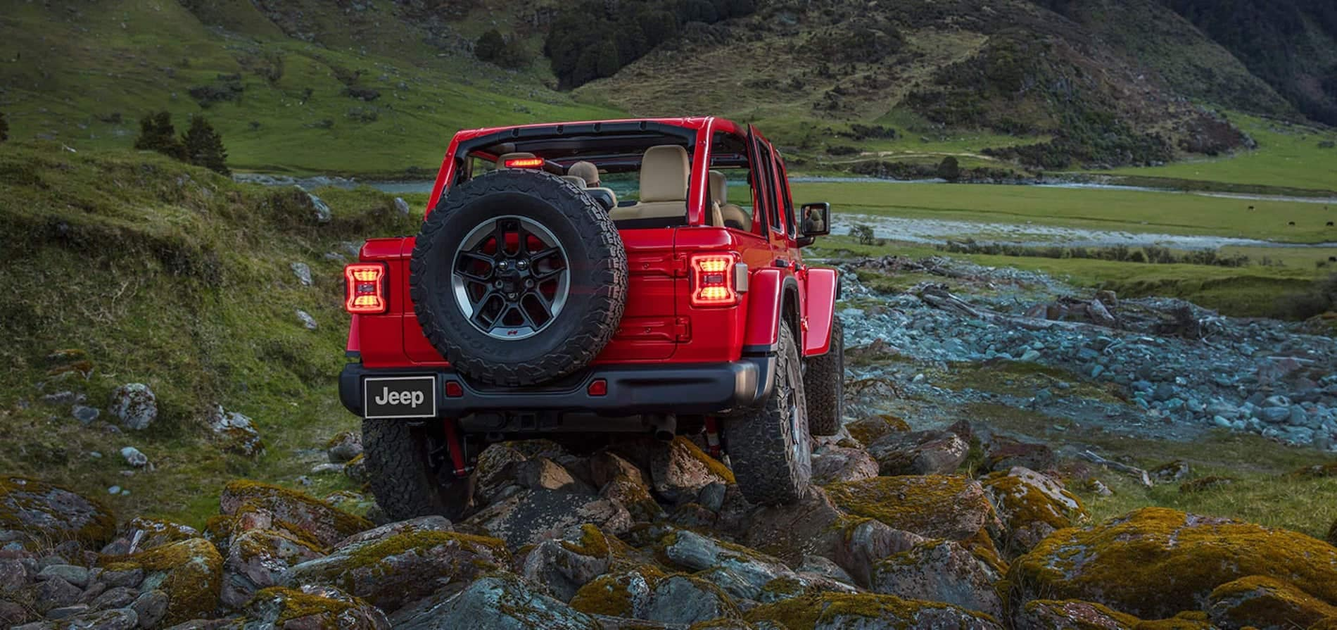 2021 Jeep Wrangler rock climbing adventure