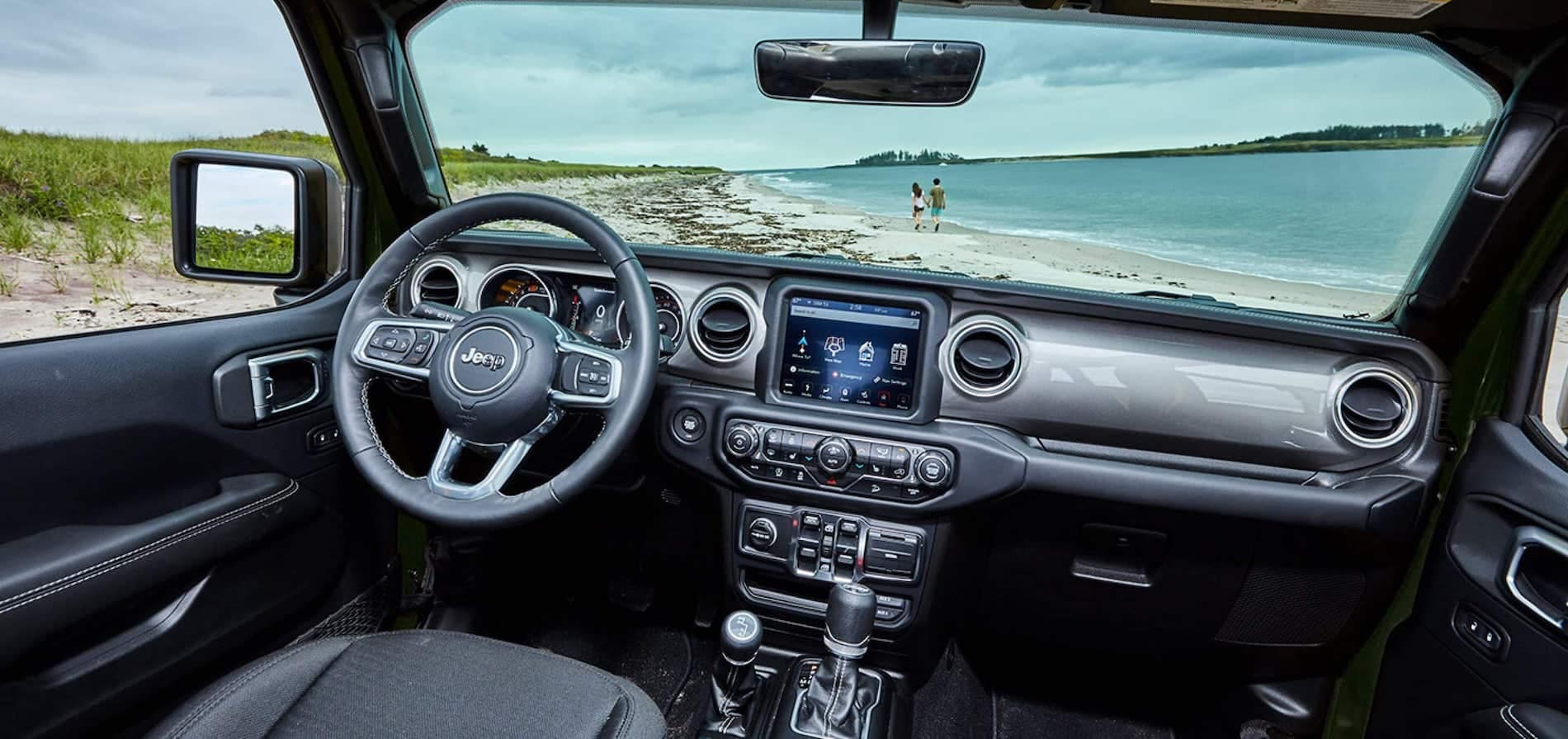 2021 Jeep Wrangler dashboard